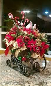 sleigh with florals recherche