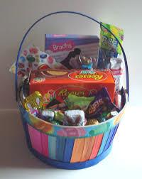 filled easter baskets large candy filled easter basket