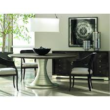 Round Dining Table And Chairs Caracole Modern Uptown Round Dining Table Dining Tables
