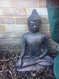 iron garden ornaments buddha ganesh elephant in hedge end