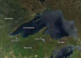 Map Of Wisconsin And Michigan by Prescribed Fires In National Forests Of Wisconsin And Michigan Nasa