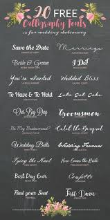 wedding invitations font the 25 best invitation fonts ideas on wedding