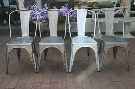 Galvanized Outdoor Chairs Tolix Industrial A Chair