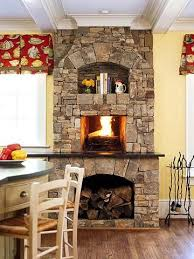 kitchen fireplace design ideas best 25 fireplace in kitchen ideas on dining room