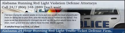 Traffic Light Ticket Alabama Running Red Light Traffic Ticket Alabama Red Light