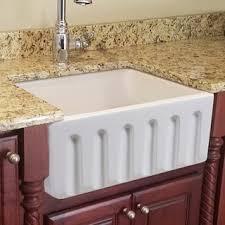 fine fixtures fireclay sutton 23 25 inch white farmhouse kitchen