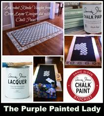 Painted Linoleum Floor Painting A Linoleum Floor And U2026 The Purple Painted Lady