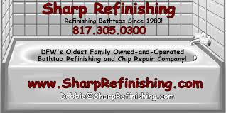 bathtub refinishing and chip repair family owned and operated