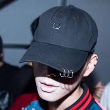casquette kpop hoop fashion s s hip hop cap black