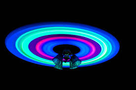 glow in the ceiling picture of the day glow sticks and a ceiling fan twistedsifter