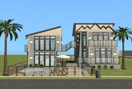 Glass Front House Mod The Sims House Of Glass