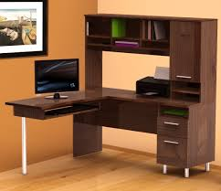 furniture office l shaped computer desk with hutch office