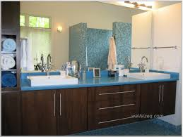 dark bathroom cabinets