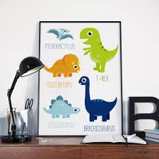 dinosaur nursery art etsy printable dinosaur poster dino boys room cute wall art