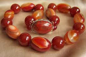 large red bead necklace images Amazing vintage natural jade red tibet dzi of stripe agate bead jpg