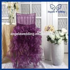 fancy chair covers purple chair covers sleek monplancul info