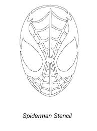 25 spiderman pumpkin stencil ideas spiderman