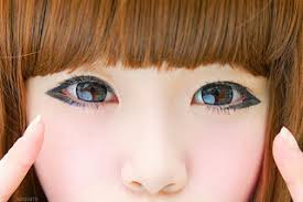 tutorial make up mata sipit ala korea how to make the eyes become slanted style korea