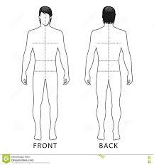 man template figure stock vector image of human hair 77983639