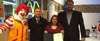 online for highschool graduates smart horizons mcdonald s graduation ceremony honors employee