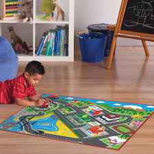 Kids Play Rugs With Roads by Kids Play Rug Car Road Rug Paw Patrol Toy Fire Truck Track