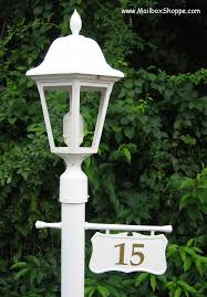 light post with address sign light pole sign light post sign