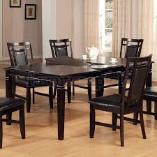 Perfect Ideas Espresso Dining Room Sets Charming Idea Espresso - Espresso dining room set