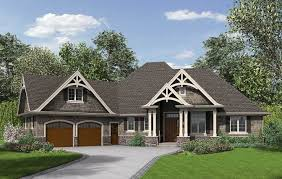one story craftsman home plans house plans modern craftsman style arts within lovely new home