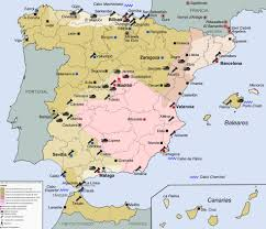Tanger Map Map Of Spain