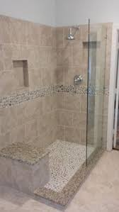 Open Shower Bathroom Design Design Of The Doorless Walk In Shower Bath Showers And Master