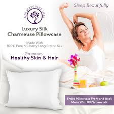amazon com pure silk pillowcase 100 mulberry silk oeko tex