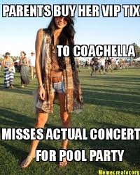 Music Festival Meme - the anthropology of coachella the anthropology of