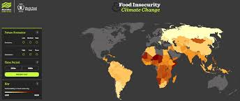 Maps New York Climate Change How Will Climate Change Affect Food Security World Economic Forum