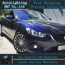 brand new mazda aliexpress com buy car styling new for mazda 6 led headlights
