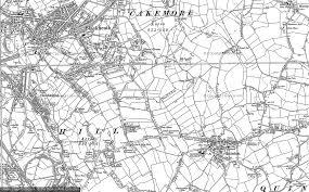 hurst map hurst green photos maps books memories francis frith