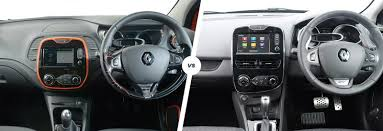 renault scenic 2017 interior renault captur vs clio u2013 sibling show down carwow