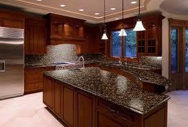 Baltic Brown Granite Countertops With Light Tan Backsplash by Baltic Brown Granite Kitchen Countertops Venetian Gold Granite