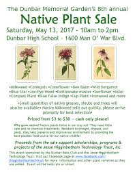 why plant native plants native plant sale 2017
