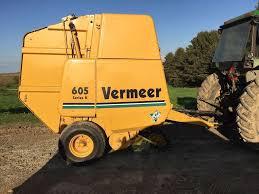 1997 vermeer 605k round baler for sale waukon ia 43005