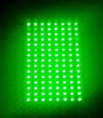 Green Flood Light 120 Led Green 520 Nm Array Elixa