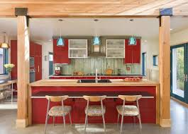 l shaped kitchen designs with island pictures outofhome red and