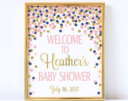 baby shower sign baby shower sign etsy