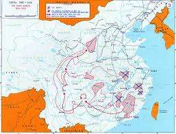 West Point Map Mao U0027s Long March Cosmolearning History