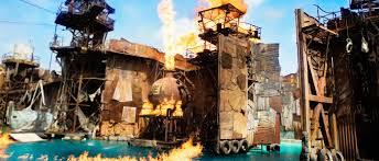 Map Of Universal Studios Waterworld Rides U0026 Attractions Universal Studios Hollywood