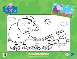 print peppa pig coloring sheets www peppapig bebe