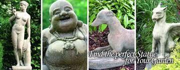 statues ornaments sculpture bird tables animals pillars