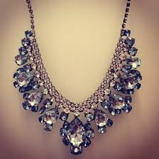 diamond blue necklace images Jewels necklace diamons glitter fabulous big diamonds shiny jpg