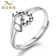 palladium jewelry genuine nest palladium rings creative fashion models