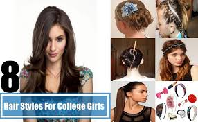 different hair 8 easy hair styles for college different hair