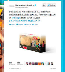 nintendo 3ds black friday nintendo confirms legend of zelda black friday 3ds xl bundle for